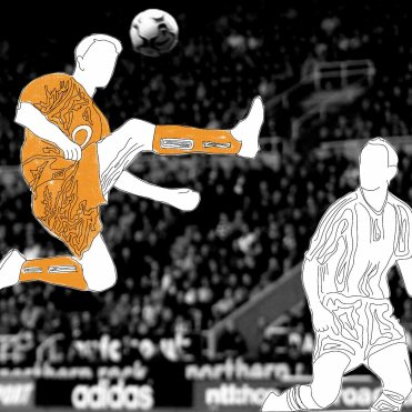 """""""Behind every kick of the ball there has to be a thought"""" – Dennis Bergkamp"""