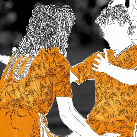 Celebrations. Gullit – Basten