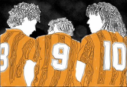Gullit – Van Basten – Rijkaard